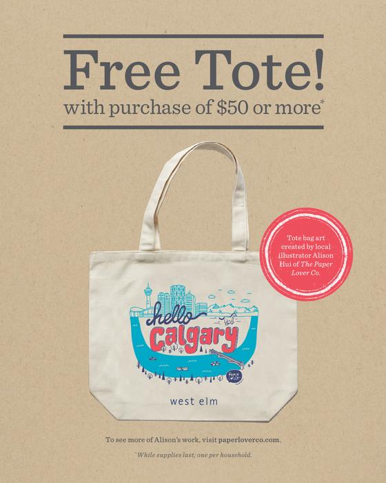 Free Tote Bag!