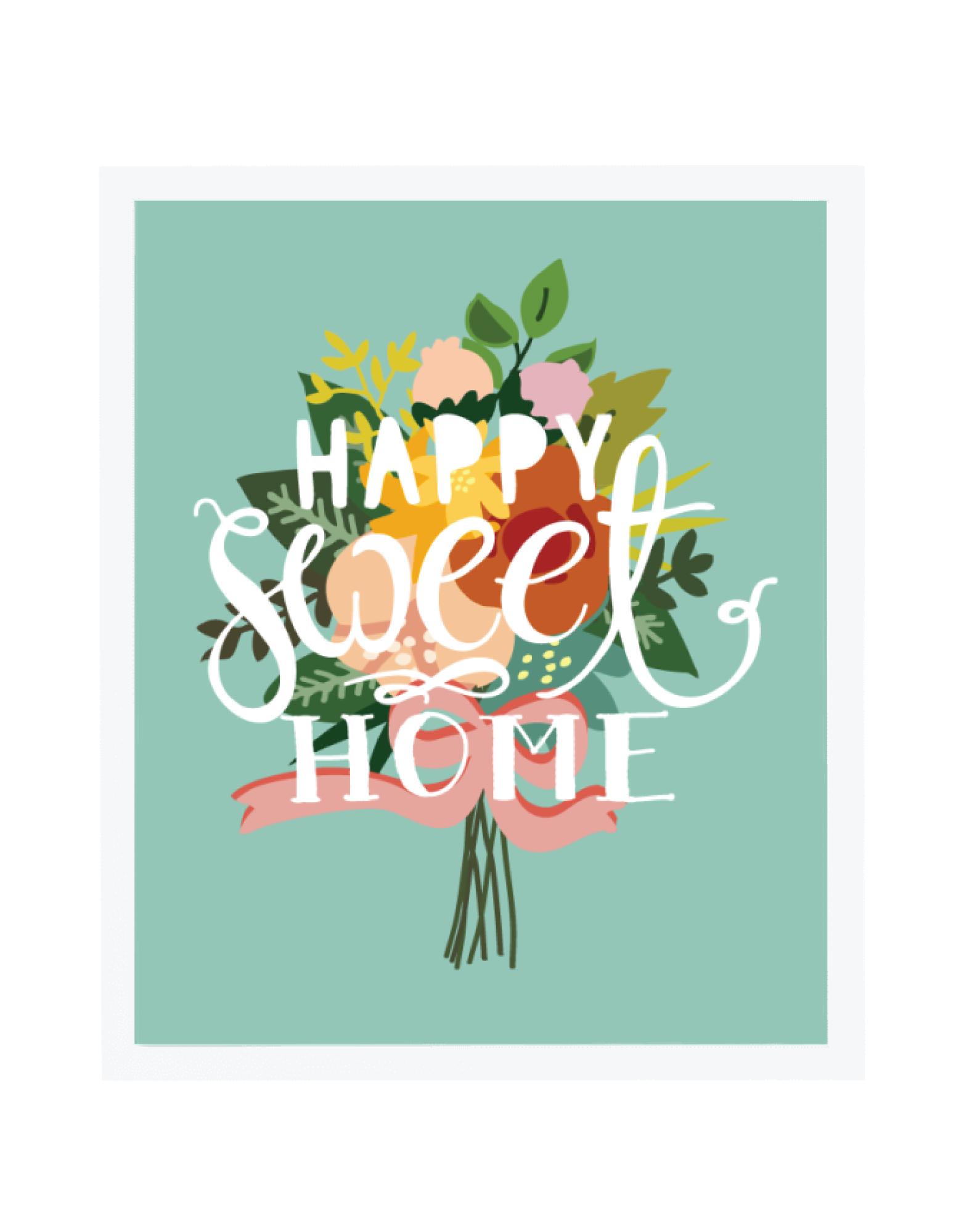 Happy Sweet 16 To Dylan S Candy Bar: Happy Sweet Home Art Print