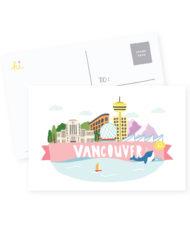 Hi Vancouver Postcard